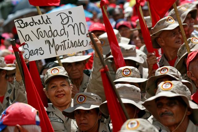 2019-07-16-VENEZUELA-LOGICASA MARCHA EN CONTRA DE INFORME FALSO (1)