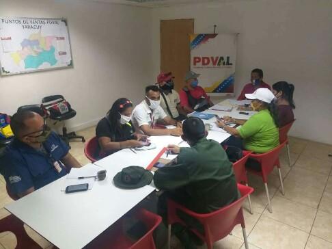 <b>ESTADO MAYOR DE ALIMENTACIÓN GARANTIZA PROTECCIÓN ALIMENTARIA EN YARACUY<b>