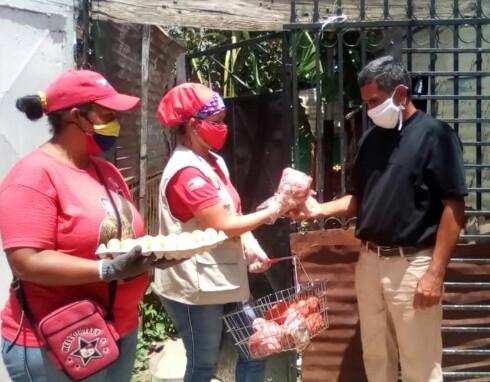 <b>PDVAL EN ARAGUA ATENDIÓ A MÁS DE MIL 400 FAMILIAS DE MARIÑO<b>